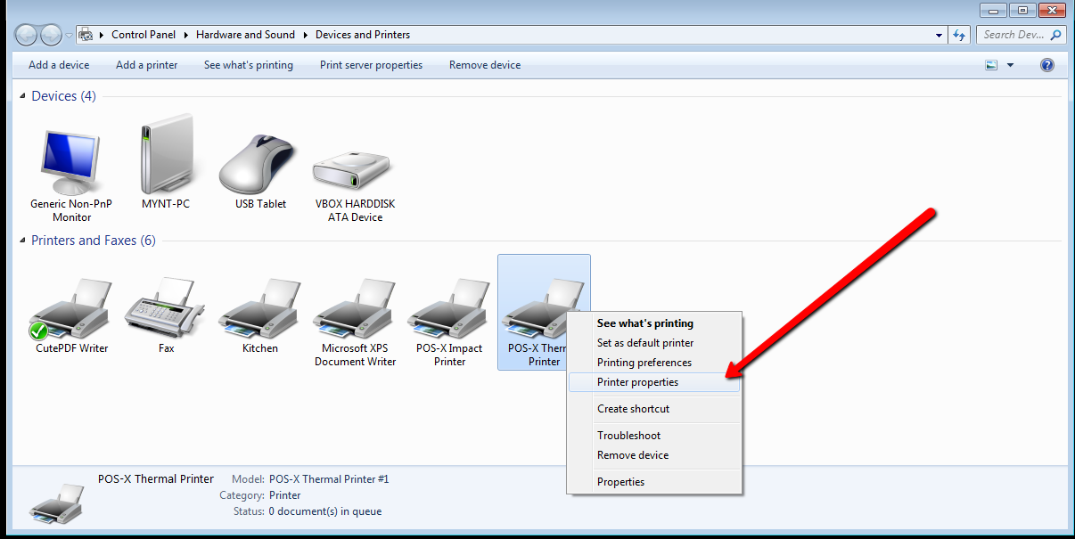 How to Clear the Print Queue (Windows 7) - POS-X
