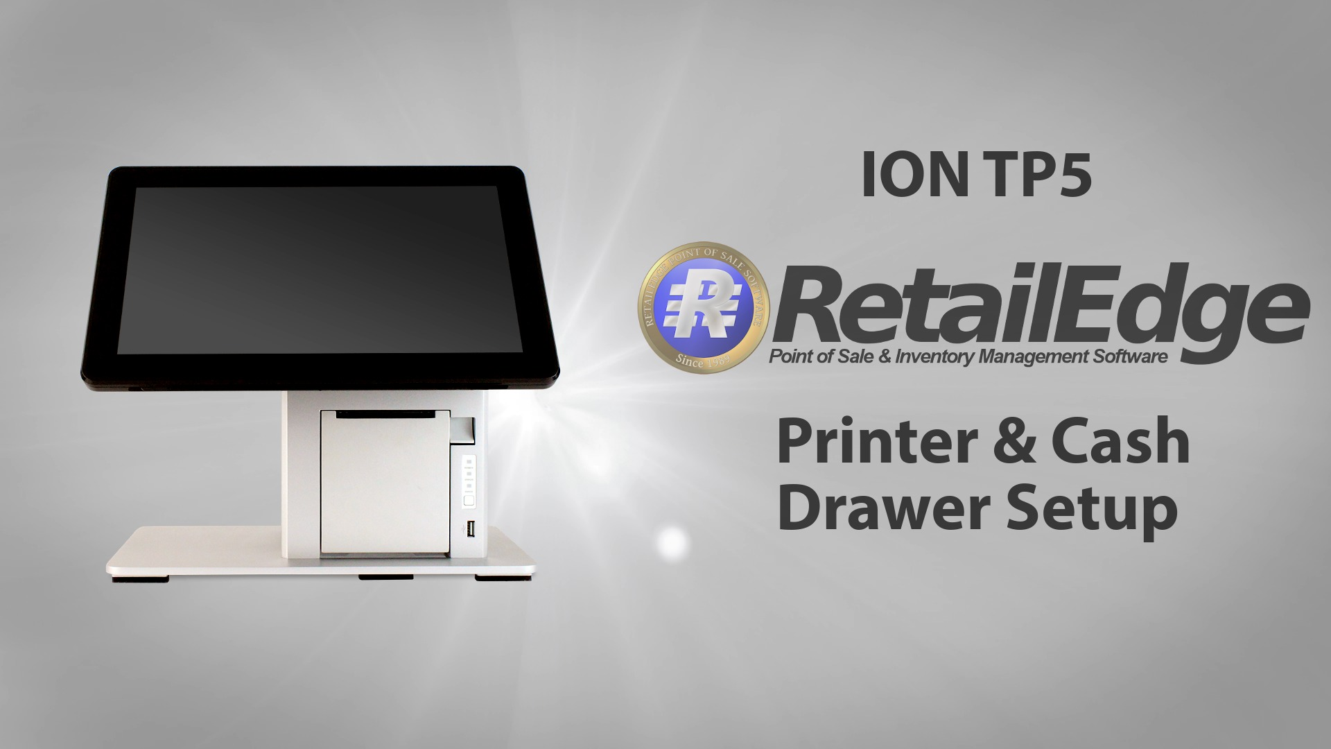 Ion Tp5 Retail Edge Printer Setup Pos X